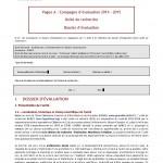 Evaluation AERES